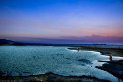 Amanecer en la laguna