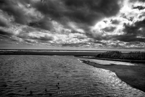 La laguna en invierno