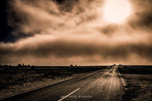 La niebla se cierne sobre el cabo